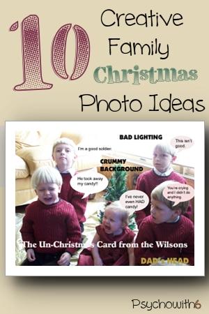 funny family christmas photo ideas