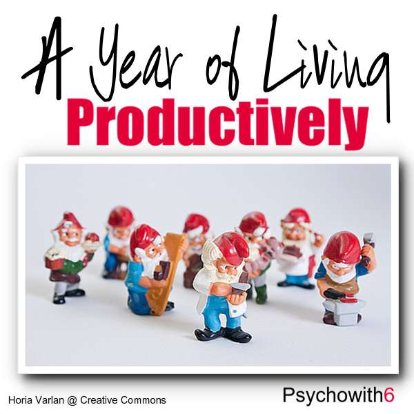 A Year of Living Productively: A series of experiments that could help you get more done.