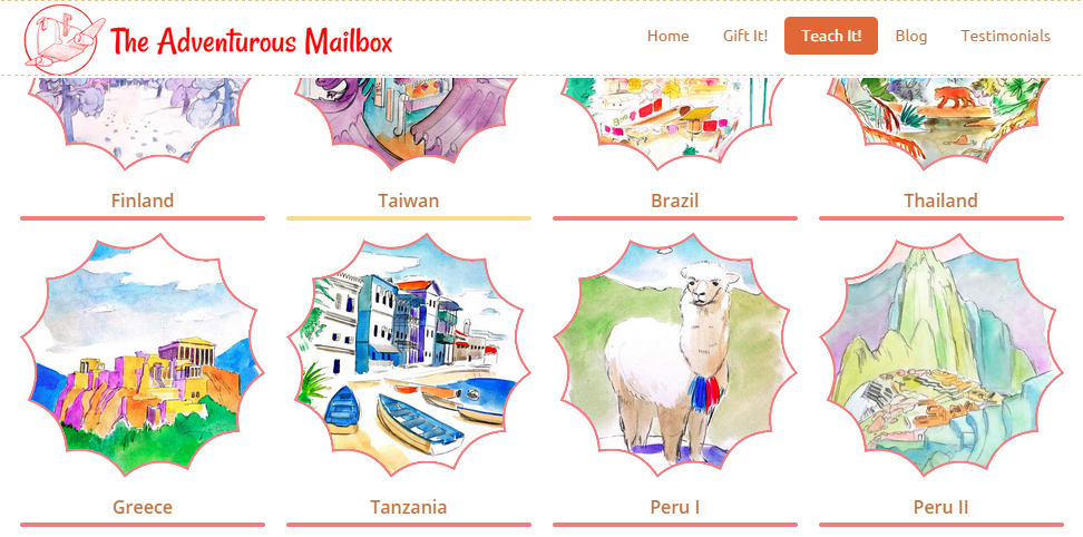 The Adventurous Mailbox books