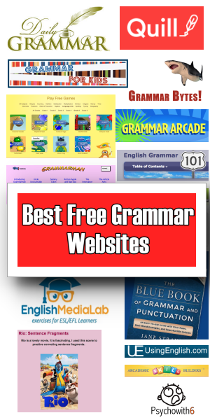 Best Free Grammar Websites