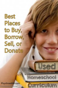 Best Place to Buy Borrow Sell Used Homeschool