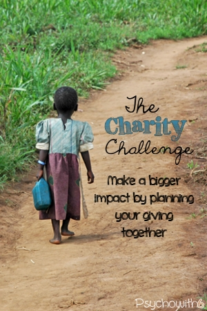The charity challenge: make a bigger impact by planning your giving together. Don't miss deadlines for holiday giving with these important steps.