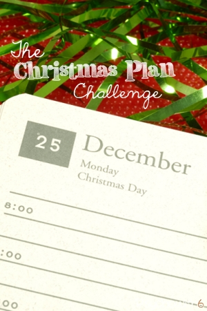 It's time to create a plan for Christmas, so you can have an organized, peaceful holiday. Do these short steps and you'll be ready!