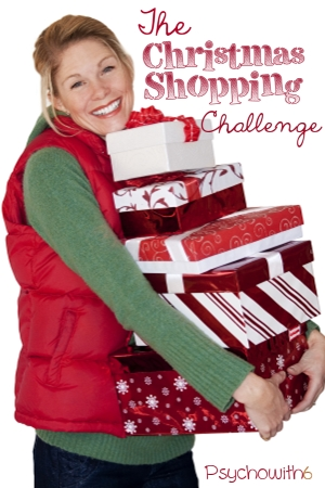 The Christmas Shopping Challenge -- get organized to get it done!