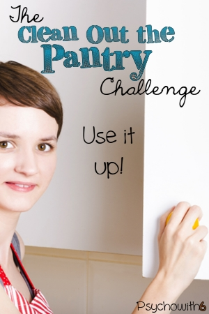 The Clean Out the Pantry Challenge: Ideas for Using it Up!
