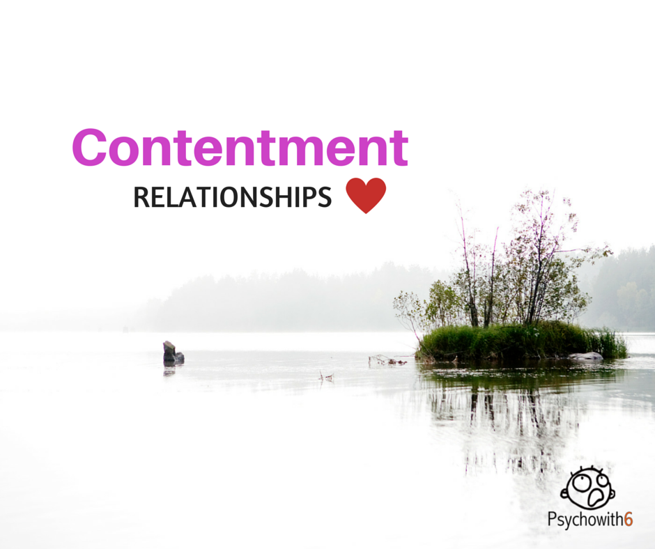 contentment in relationships