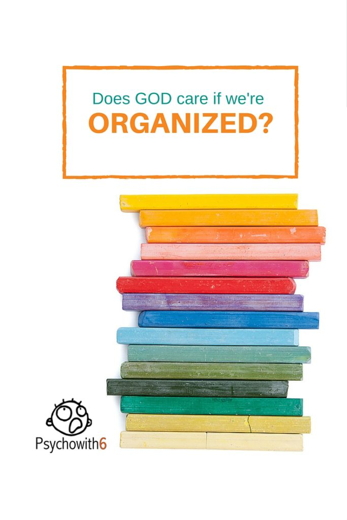 Does God care if we're organized? Christian Habits podcast