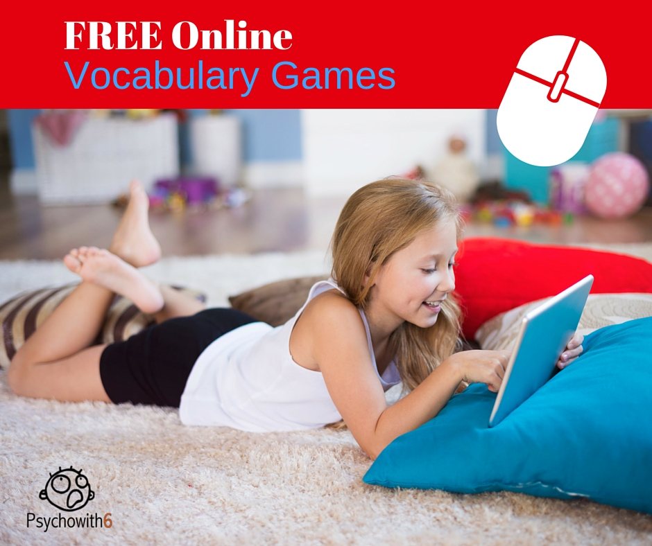 Free Online Vocabulary Games