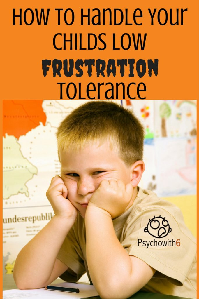 How to Manage Low Frustration Tolerance