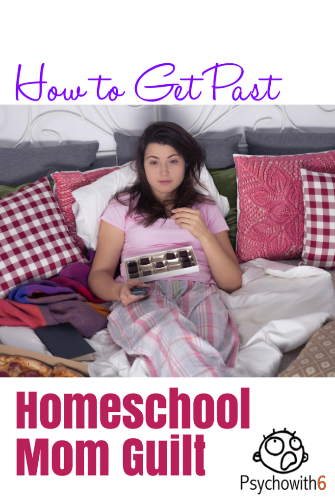How to get past homeschool mom guilt #momguilt