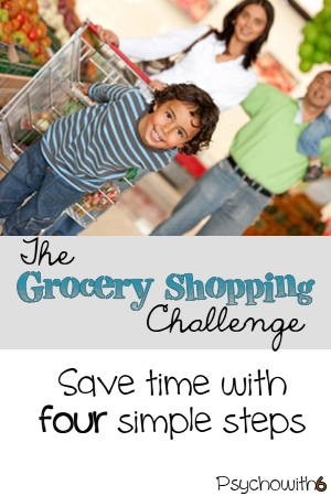 Take the grocery shopping challenge and save time and money!
