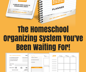 The Organized Homeschool Life Planner