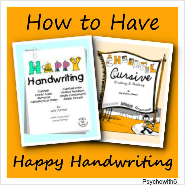 How to Have Happy Handwriting