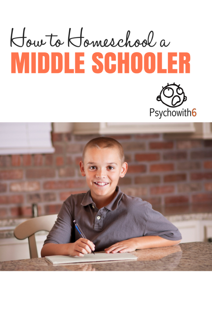 How to Homeschool a Middle Schooler #homeschooling @middleschool
