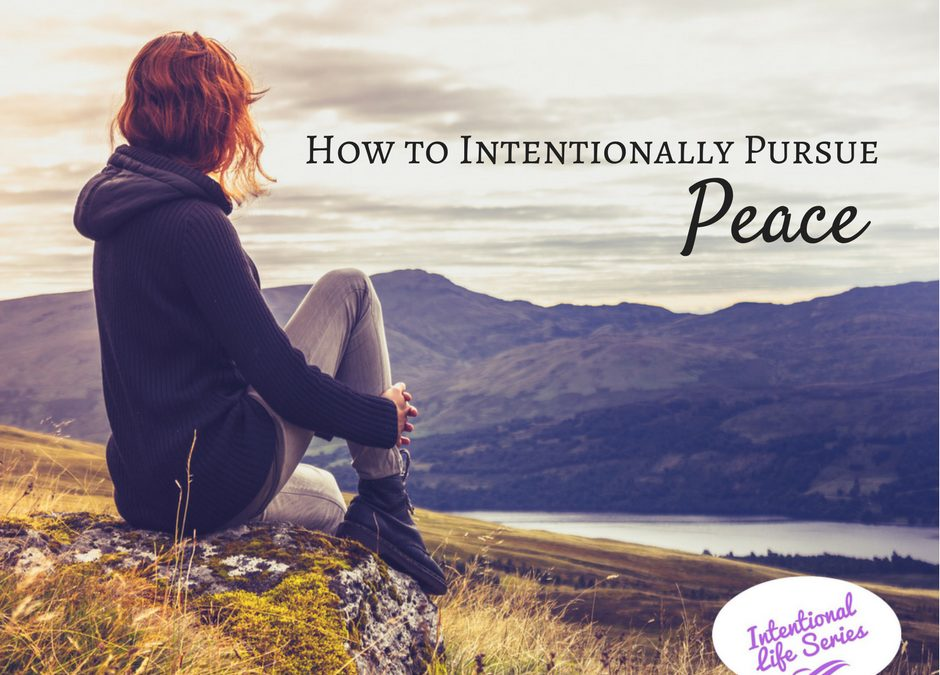How to Find Peace in the Right Places