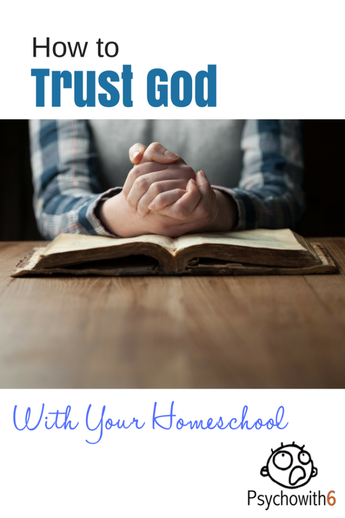 How to Trust God With Your Homeschool #homeschool #christianhomeschooling