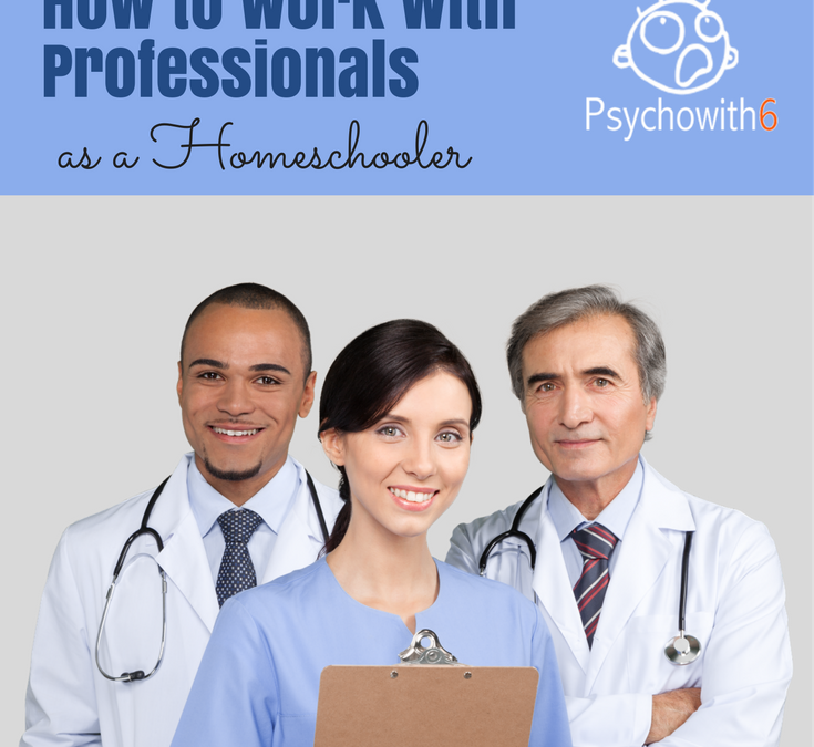 How to Work with Professionals as a Homeschooler