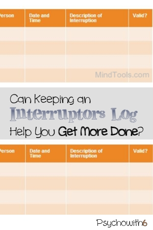 productivity, download, interruptions, form, printable