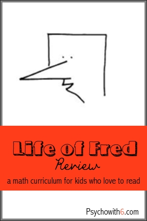 Life of Fred Review: a math curriculum for kids who love to read