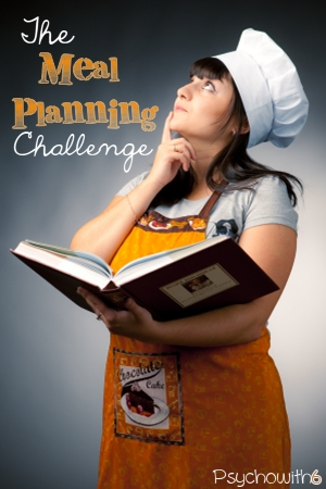 The Meal Planning Challenge; Get your meals organized this week so you can focus on school and fall fun!