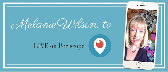 Melanie Wilson on Periscope