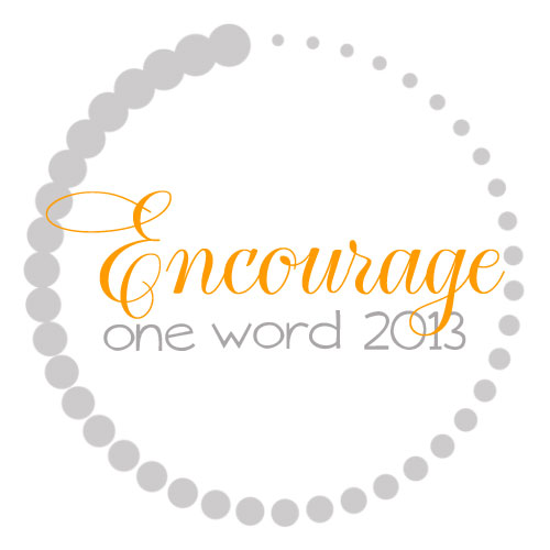 OneWord2013_Encourage