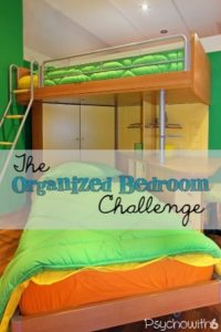Organize kids' bedrooms this week with easy tasks.