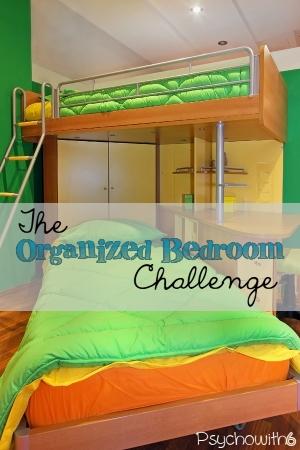 Organize kids' bedrooms this week with easy tasks.