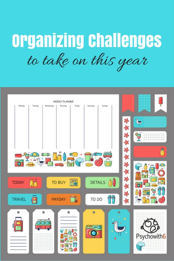 Organizing Challenges to Take on This Year