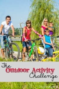 The outdoor activity challenge; get organized so sports and entertaining aren't a chore.