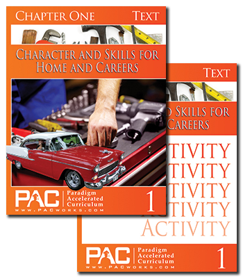 Paradigm Accelerated Curriculum Character and Skills for Home & Career