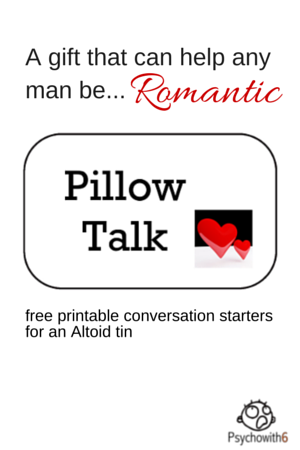 Pillow Talk Printables