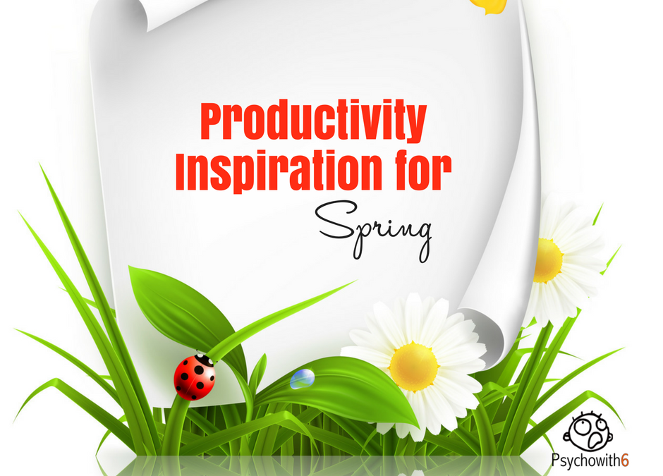 Productivity Inspiration for This Spring