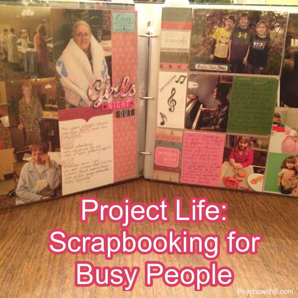 Project Life for Busy People