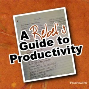 Rebels guide to productivity