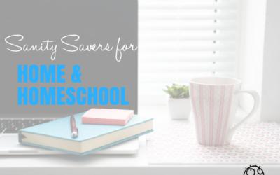 Sanity Savers for Home and Homeschool