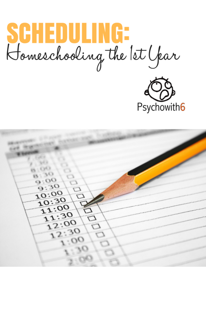 Scheduling for First Year Homeschoolers #homeschooling #scheduling #newhomeschoolers