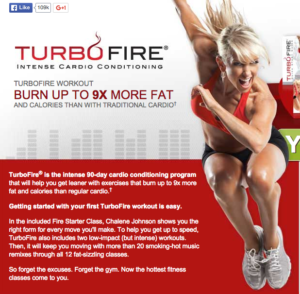 Chalene Johnson's Turbo Fire