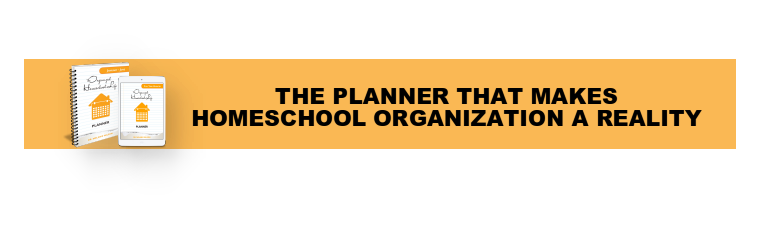 The Organized Homeschool Life Planner