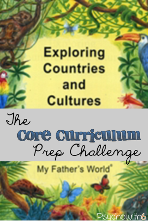The core curriculum prep challenge. Get ready to teach the major subjects in your homeschool.