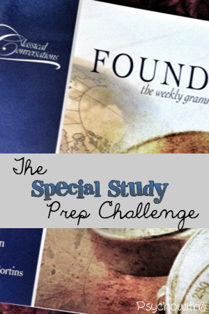 The Special Study Prep Challenge: Get organized for Classical Conversations, Co-op, and Unit Studies
