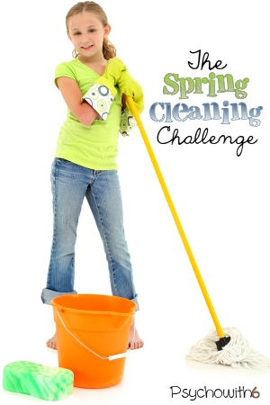 Teach your kids and get your spring cleaning done by taking this spring cleaning challenge.