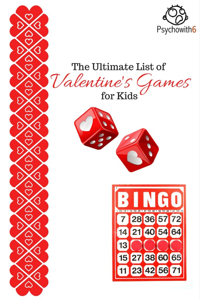 the ultimate list of valentines games for kids