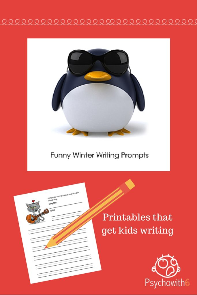 Free Funny Winter Writing Prompts