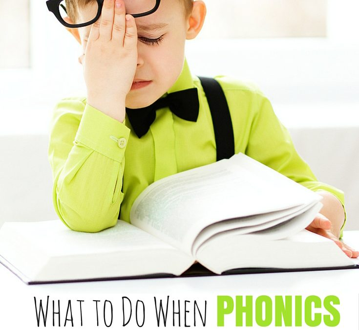 What to Do When Phonics Doesn't Work