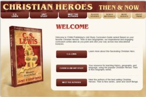 christian heroes screen page