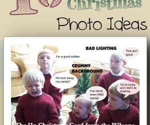 10 Family Christmas Photo Ideas