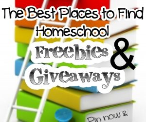 The Best Places to Find Homeschool Freebies & Giveaways
