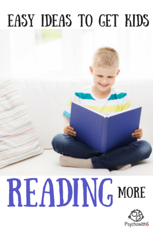 Easy ways to get kids reading more