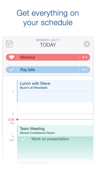 Timeful scheduling and task app